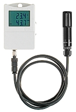 Compressed air humidity transmitter