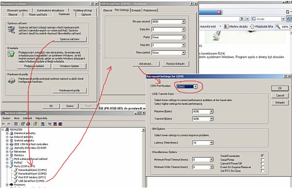 Technical support – Map Port to Usb Port